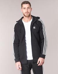 Îmbracaminte Bărbați Hanorace  adidas Originals 3 STRIPES FZ Negru