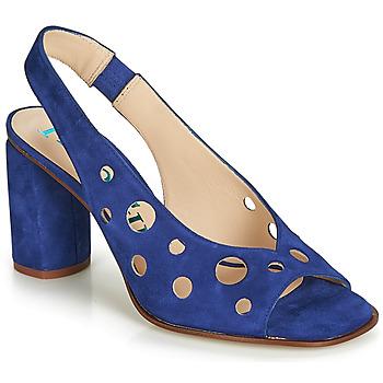 Pantofi Femei Sandale și Sandale cu talpă  joasă Paco Gil BALI Albastru