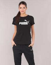 Îmbracaminte Femei Tricouri mânecă scurtă Puma PERMA ESS TEE Negru