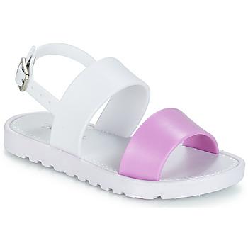 Pantofi Fete Sandale și Sandale cu talpă  joasă Be Only ELEA Alb / Roz