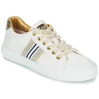 Pantofi Femei Pantofi sport Casual Replay EXTRA Alb / Auriu