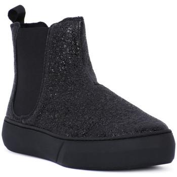Pantofi Femei Botine Frau FERRER NERO Nero