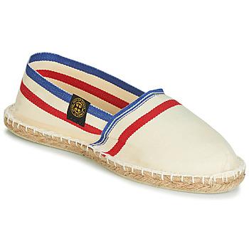 Pantofi Espadrile Art of Soule RAYETTE Bej / Albastru / Roșu