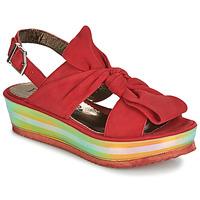 Pantofi Femei Sandale și Sandale cu talpă  joasă Papucei CONDE Roșu