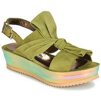 Pantofi Femei Sandale și Sandale cu talpă  joasă Papucei CONDE Verde