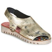 Pantofi Femei Sandale și Sandale cu talpă  joasă Papucei BLIS Argintiu