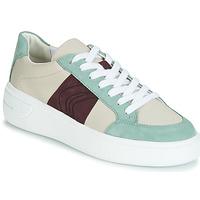Încăltăminte Femei Pantofi sport Casual Geox D OTTAYA Crem / Verde