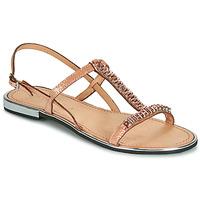 Pantofi Femei Sandale și Sandale cu talpă  joasă Geox D SOZY PLUS Bronz