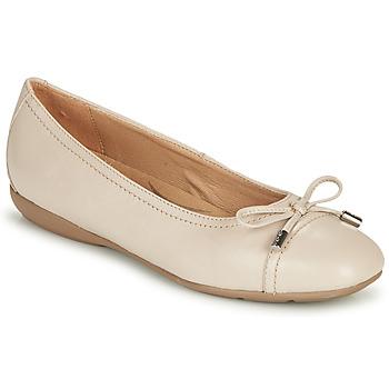 Pantofi Femei Balerin și Balerini cu curea Geox D ANNYTAH Taupe