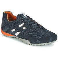 Pantofi Bărbați Pantofi sport Casual Geox UOMO SNAKE Bleumarin