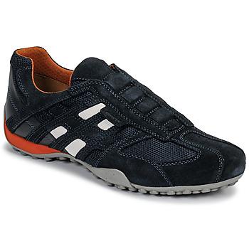 Încăltăminte Bărbați Pantofi sport Casual Geox UOMO SNAKE Albastru / Negru