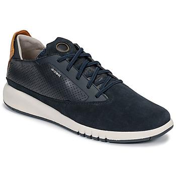 Încăltăminte Bărbați Pantofi sport Casual Geox U AERANTIS Bleumarin