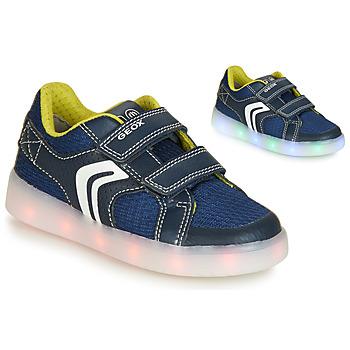 Pantofi Băieți Pantofi sport Casual Geox J KOMMODOR BOY Albastru / Led