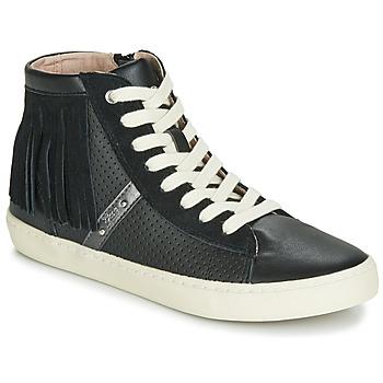 Pantofi Fete Pantofi sport stil gheata Geox J KILWI GIRL Negru