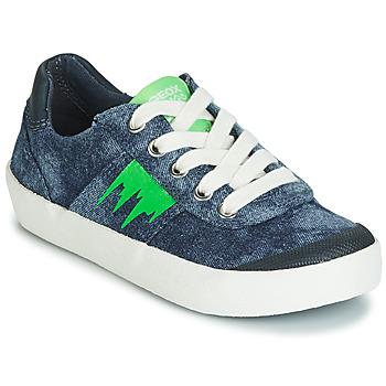 Încăltăminte Băieți Pantofi sport Casual Geox J KILWI BOY Albastru / Verde