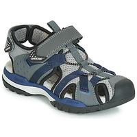 Pantofi Băieți Sandale sport Geox J BOREALIS BOY Gri / Bleumarin