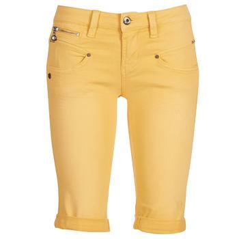Îmbracaminte Femei Pantaloni scurti și Bermuda Freeman T.Porter Belixa New Magic Color Galben