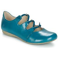 Pantofi Femei Balerin și Balerini cu curea Josef Seibel FIONA 04 Albastru