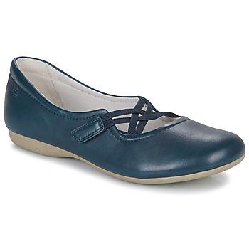 Pantofi Femei Balerin și Balerini cu curea Josef Seibel FIONA 39 Albastru