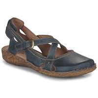 Pantofi Femei Sandale și Sandale cu talpă  joasă Josef Seibel ROSALIE 13 Albastru