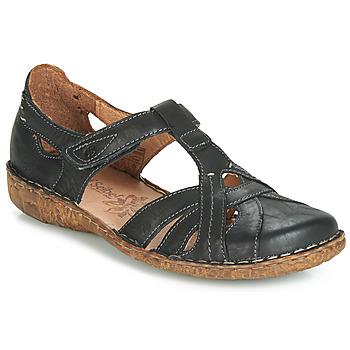 Pantofi Femei Sandale și Sandale cu talpă  joasă Josef Seibel ROSALIE 29 Negru