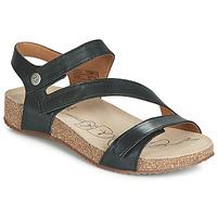 Pantofi Femei Sandale și Sandale cu talpă  joasă Josef Seibel TONGA 25 Negru