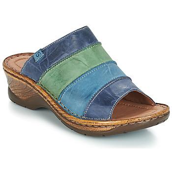 Pantofi Femei Papuci de vară Josef Seibel CATALONIA 64 Albastru