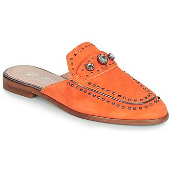 Pantofi Femei Papuci de vară Dorking 7783 Portocaliu