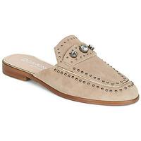 Pantofi Femei Papuci de vară Dorking 7783 Taupe
