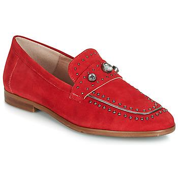 Pantofi Femei Mocasini Dorking 7782 Roșu