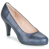Pantofi Femei Pantofi cu toc Dorking 7118 Bleumarin