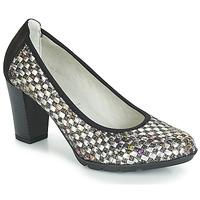 Încăltăminte Femei Pantofi cu toc Dorking 7736 Gri / Negru