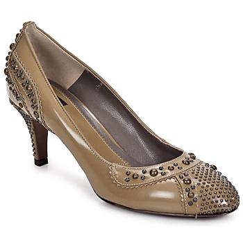 Pantofi Femei Botine Etro GRACE 711-indios-bej