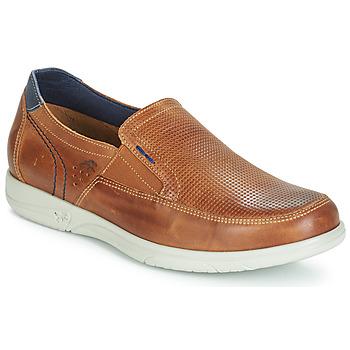 Pantofi Bărbați Pantofi Slip on Fluchos SUMATRA Maro