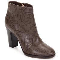 Pantofi Femei Botine Etro MARLENE Paisley-marrone
