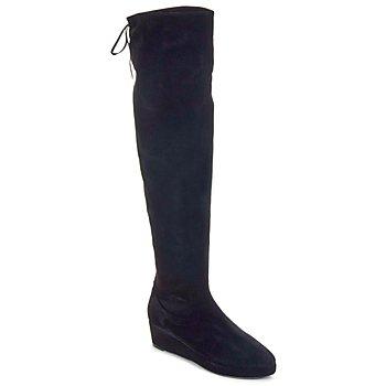 Pantofi Femei Cizme lungi peste genunchi Etro NEFER  nero-mustard
