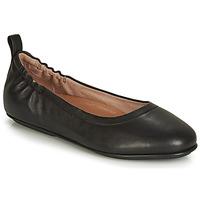 Pantofi Femei Balerin și Balerini cu curea FitFlop Allegro Negru