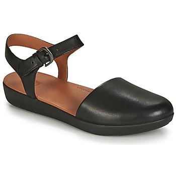 Pantofi Femei Sandale și Sandale cu talpă  joasă FitFlop COVA II Black