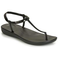 Pantofi Femei  Flip-Flops FitFlop IQUSHION SPLASH - PEARLISED Black