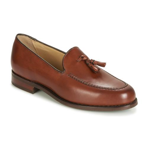 Pantofi Bărbați Mocasini Barker STUDLAND Maro
