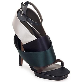 Pantofi Femei Sandale și Sandale cu talpă  joasă Kallisté NU-PIED 5801 Argento