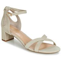 Pantofi Femei Sandale și Sandale cu talpă  joasă Lauren Ralph Lauren FOLLY Bej