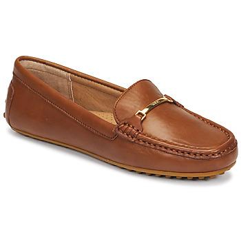 Pantofi Femei Mocasini Lauren Ralph Lauren BRIONY Coniac