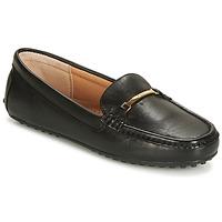 Pantofi Femei Mocasini Lauren Ralph Lauren BRIONY Negru