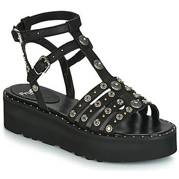 Pantofi Femei Sandale  Fru.it 5433-476 Negru / Ținte