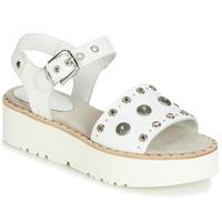 Pantofi Femei Sandale și Sandale cu talpă  joasă Fru.it 5435-476 Alb