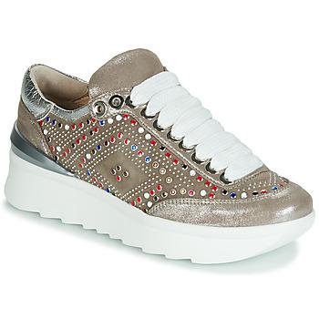 Pantofi Femei Pantofi sport Casual Fru.it 5357-008 Bej / Paiete