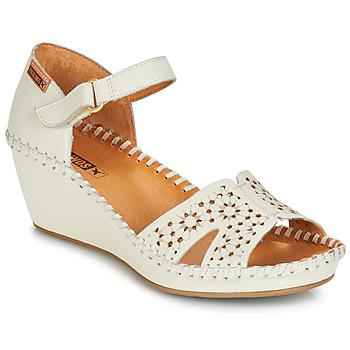Pantofi Femei Sandale și Sandale cu talpă  joasă Pikolinos MARGARITA 943 Alb