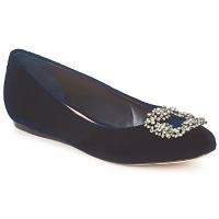 Pantofi Femei Balerin și Balerini cu curea Sebastian ELIAJU Blue