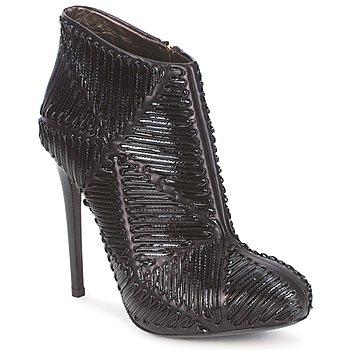 Pantofi Femei Botine Roberto Cavalli QPS566-PN018 Negru